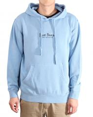 Free Pizza Gooby Pigment Dyed Hoodie Light Blue