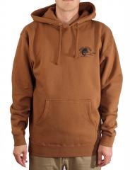 Free Pizza Lösönen Hoodie Saddle Brown