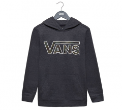 Vans Youth Classic Hoodie Black Heather / Camo