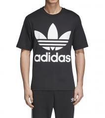 Adidas Originals Oversize Trefoil Tee Black