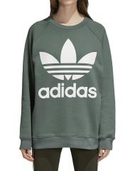 Adidas Womens Oversize Sweatshirt Trace Green