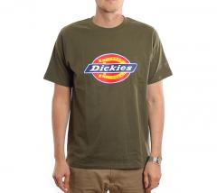 Dickies Horseshoe Tee Dark Olive