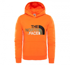 The North Face Youth Drew Peak Hoodie Persian Orange