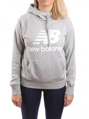 New Balance Womens Essential Pullover Hoodie Athletic Grey
