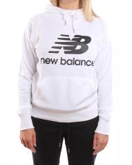 New Balance Womens Essential Pullover Hoodie White