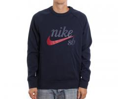 Nike SB Icon Crew GFX Obsidian / Red Crush