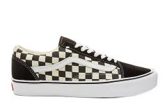 Vans Old Skool Lite Checkerboard Black / White