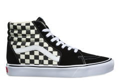054d4f52d0cd Vans SK8-Hi Lite Checkerboard Black   White