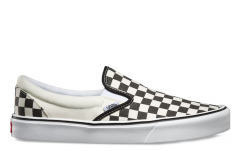 9f61ab0301b2 Vans Slip-On Lite Checkerboard Black   White