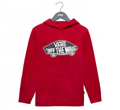 Vans Youth Classic OTW Hoodie Chili Pepper / Checkerboard