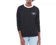 Vans Womens Full Patch Raglan Crew Sweater Black