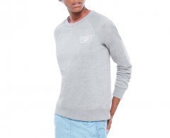 Vans Womens Full Patch Raglan Crew Sweater Grey Heather