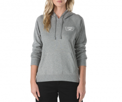 Vans Womens Full Patch Raglan Hoodie Grey Heather