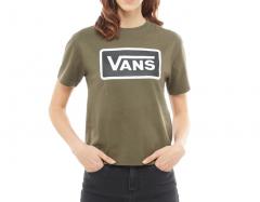 Vans Womens Boom Boom Boxy Tee Grape Leaf