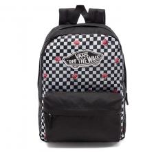 Vans Realm Backpack Rose Checkerboard