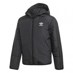 Adidas Junior Trefoil Jacket Black / White