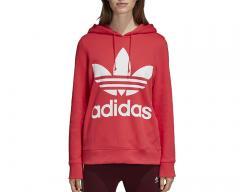 Adidas Womens Trefoil Hoodie Core Pink