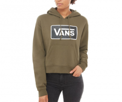 Vans Womens Boom Boom Hoodie Grape Leaf