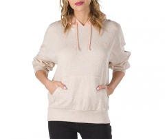 Vans Womens Road Block Hoodie Sand Dollar / Rose Cloud