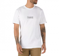 Vans Easy Box Tee White