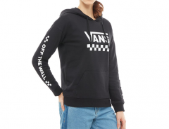 Vans Womens Too Much Fun Hoodie Black