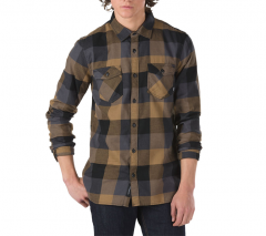 Vans Box Flannel Shirt Dirt / Black