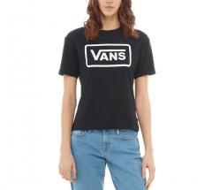 Vans Womens Boom Boom Boxy Tee Black