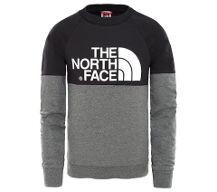 The North Face Youth Easy Longsleeve Tee TNF Black