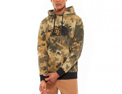 The North Face Drew Peak Hoodie New Taupe Green Camo