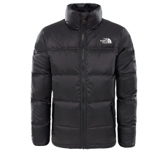 The North Face Youth Nuptse Down Jacket TNF Black