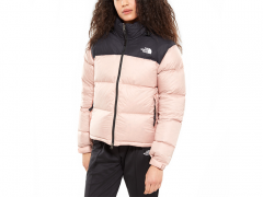 The North Face Womens 1996 Retro Nuptse Jacket Misty Rose