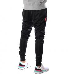Mitchell & Ness Branded Track Pants Black