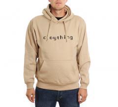 Cloything Digital Hoodie Beige