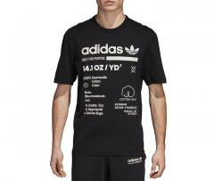 Adidas Kaval Tee Black / Cloud White