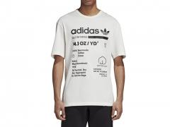 Adidas Kaval Tee Cloud White / Black