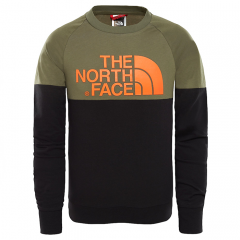 The North Face Youth Easy Longsleeve Tee New Taupe Green