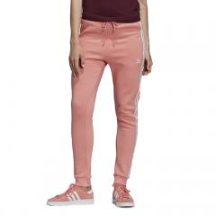 Adidas Womens Regular Cuffed Track Pants Tactile Rose