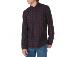 Vans Alameda II Flannel Shirt Black / Port Royale