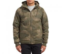 Volcom Hernan Coaster Jacket Camouflage