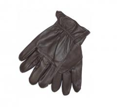 Dickies Memphis Leather Glove Dark Brown