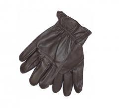 Dickies Memphis Leather Glove Dark Brown