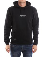 Makia Freight Hooded Sweatshirt Black