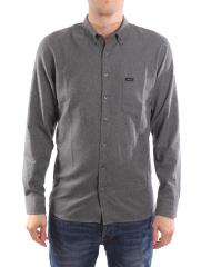 Makia Archipelago Shirt Dark Grey
