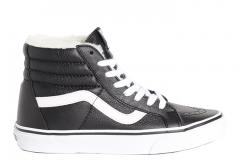 Vans Sk8-Hi Reissue Leather Black / White