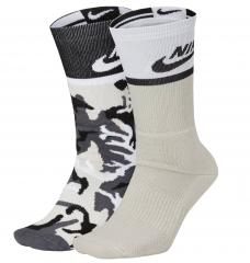 Nike SB Energy Crew Sock White Camo 2-Pack