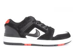 Nike SB Air Force II Low Black / Black - White - Habanero Red