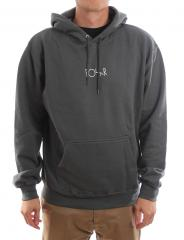 Polar Skate Co. Stroke Logo Hoodie Grey Green