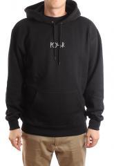 Polar Skate Co. Stroke Logo Hoodie Black