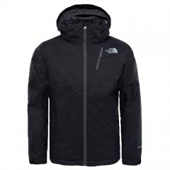 The North Face Youth Snowquest Plus Jacket TNF Black