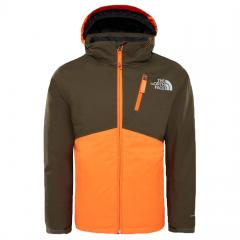 The North Face Youth Snowquest Plus Jacket New Taupe